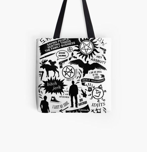 Supernatural items All Over Print Tote Bag