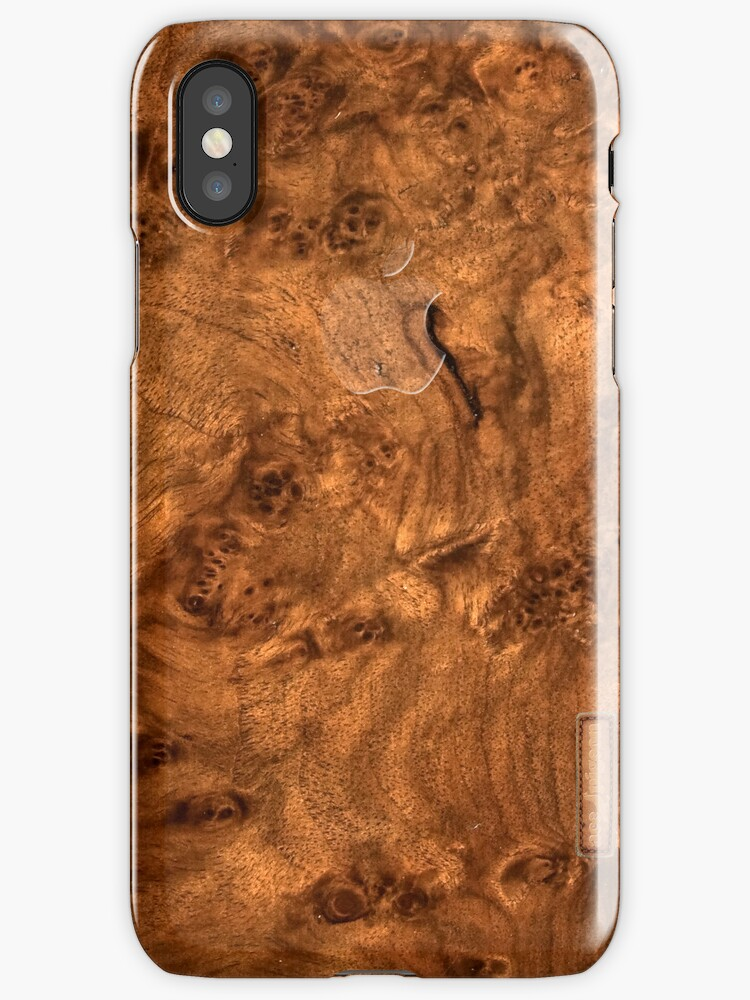 Walnut wood cover by acepigeon