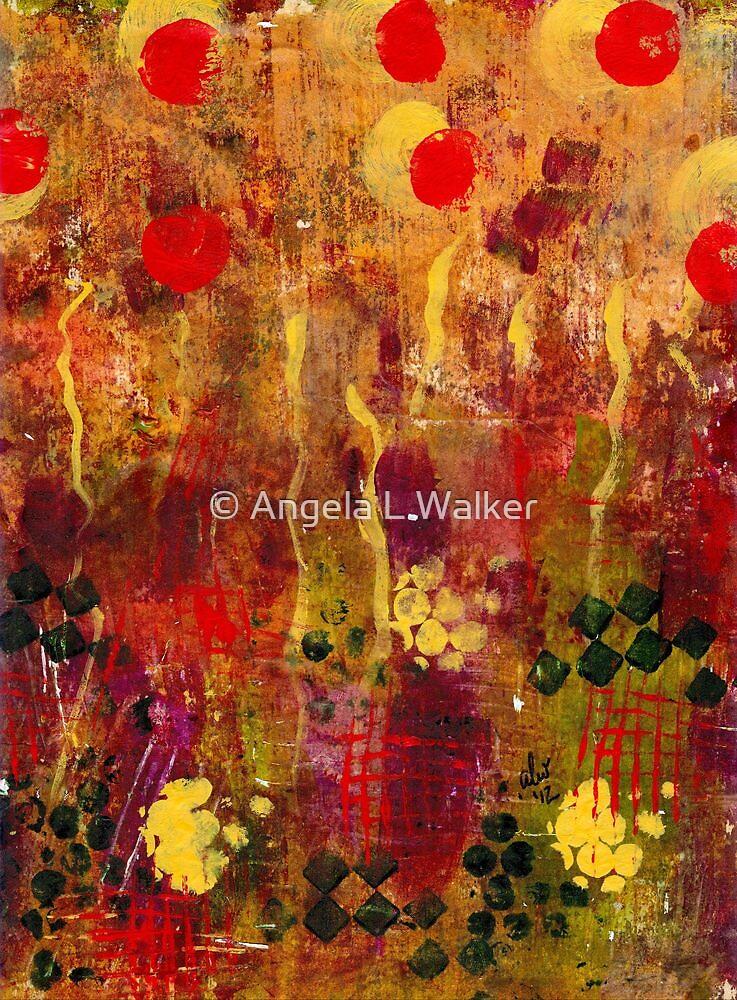 Field of Poppies by © Angela L Walker