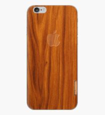 Oak wood cover iPhone Case