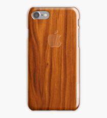 Oak wood cover iPhone Case/Skin