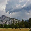 Yosemite Thunder Clouds, California, America by Shona McMillan