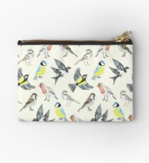 Illustrated Birds Studio Pouch