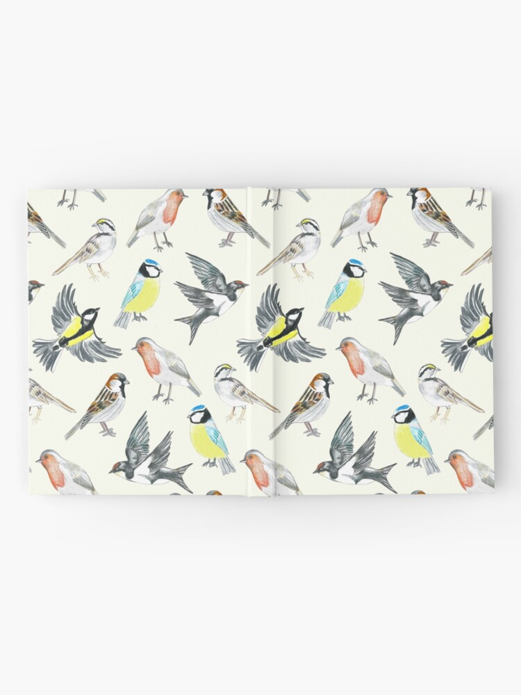 Alternate view of Illustrated Birds Hardcover Journal