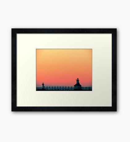 St. Joseph, MI | Silver Beach 2 Framed Print