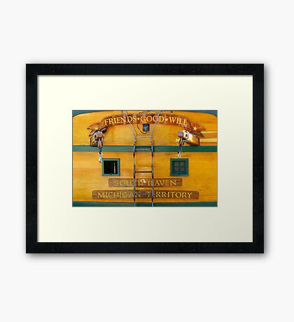South Haven, MI | Friends Good Will Framed Print