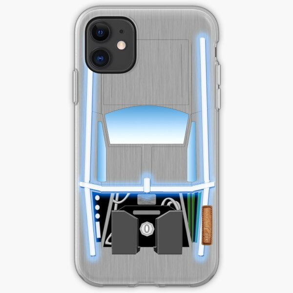 Back to the Future De Lorean iPhone Soft Case