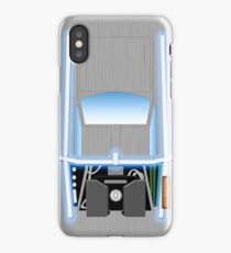 Back to the Future De Lorean iPhone Case