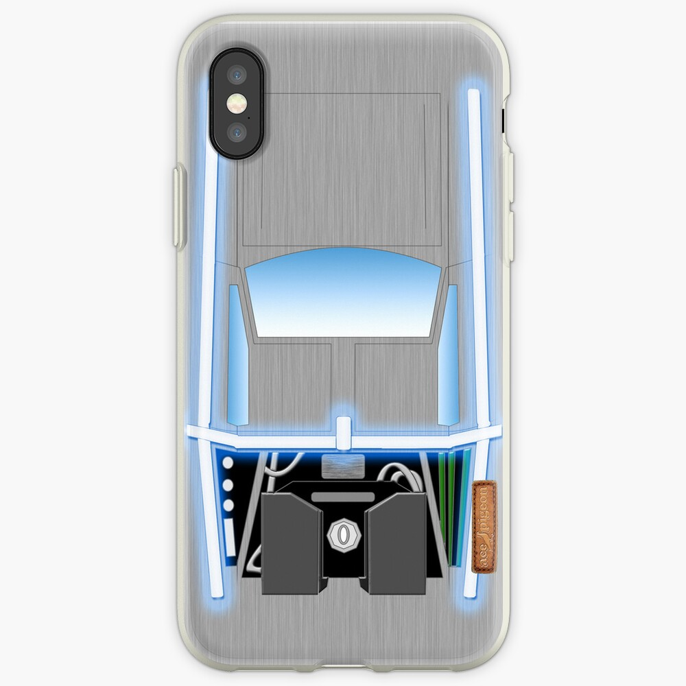 Back to the Future De Lorean iPhone-Hülle & Cover