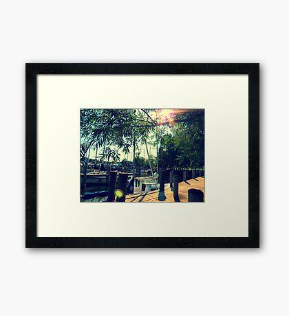 South Haven, MI | Harbor 3 Framed Print