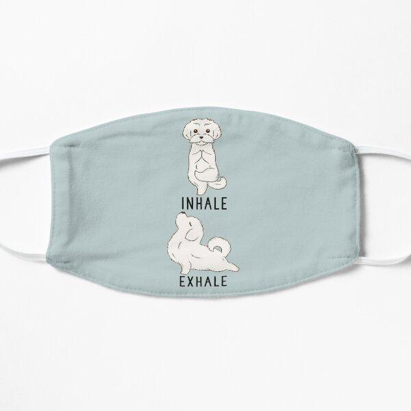 Inhale Exhale Maltese Yoga Mask