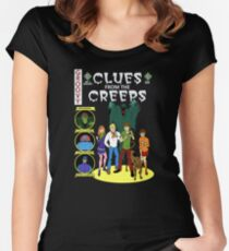 Clues From the Creeps Women's Fitted Scoop T-Shirt