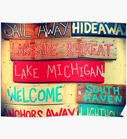 South Haven, MI | Antiques Poster