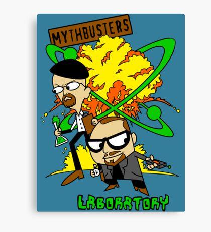 Mythbuster's Lab Canvas Print