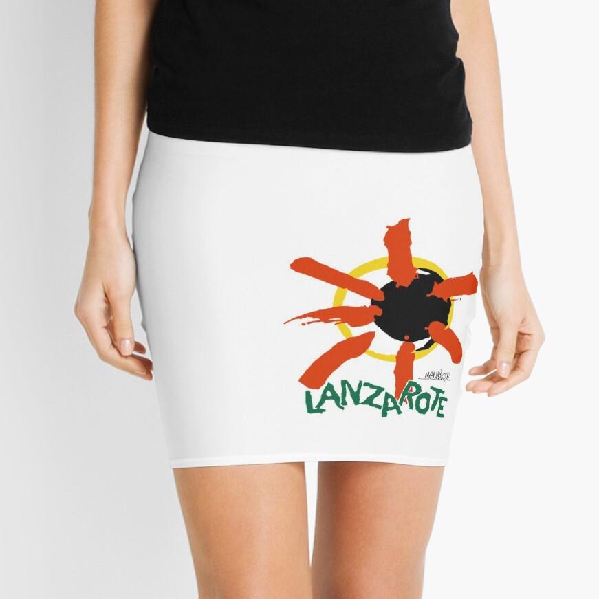 Lanzarote - Large Logo Mini Skirt