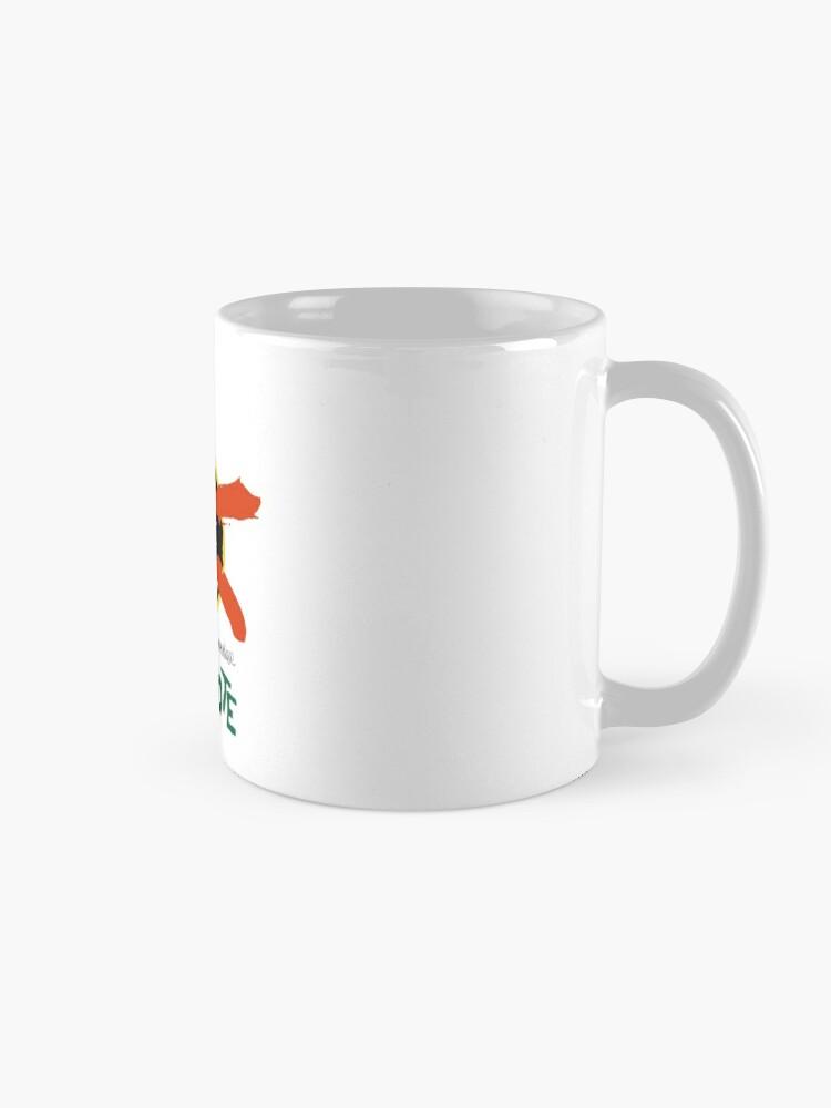Alternate view of Lanzarote - Large Logo Mug