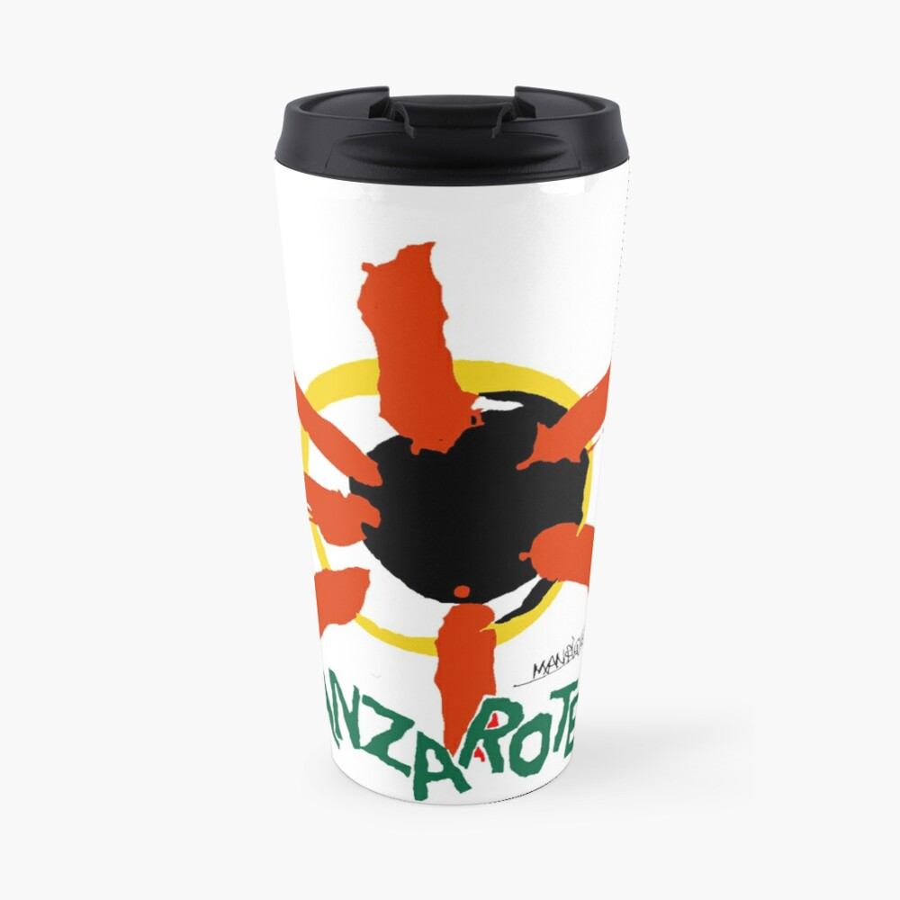 Lanzarote - Large Logo Travel Mug