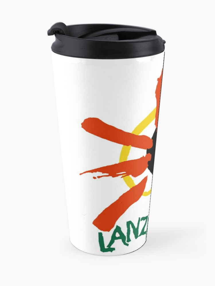 Alternate view of Lanzarote - Large Logo Travel Mug