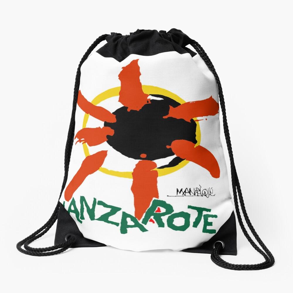 Lanzarote - Large Logo Drawstring Bag