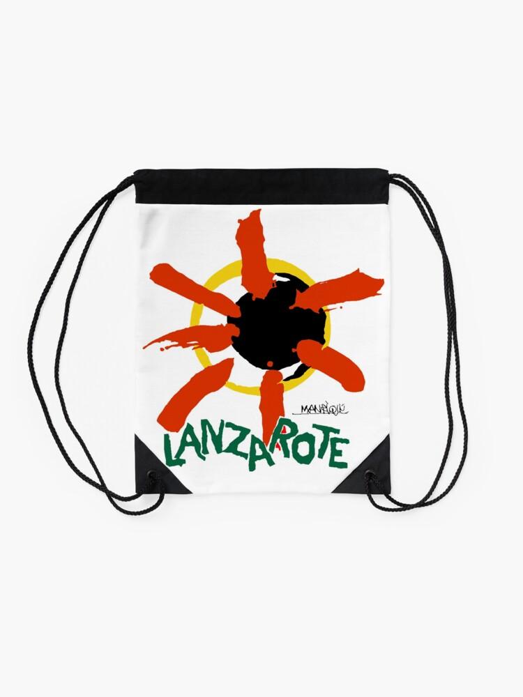 Alternate view of Lanzarote - Large Logo Drawstring Bag