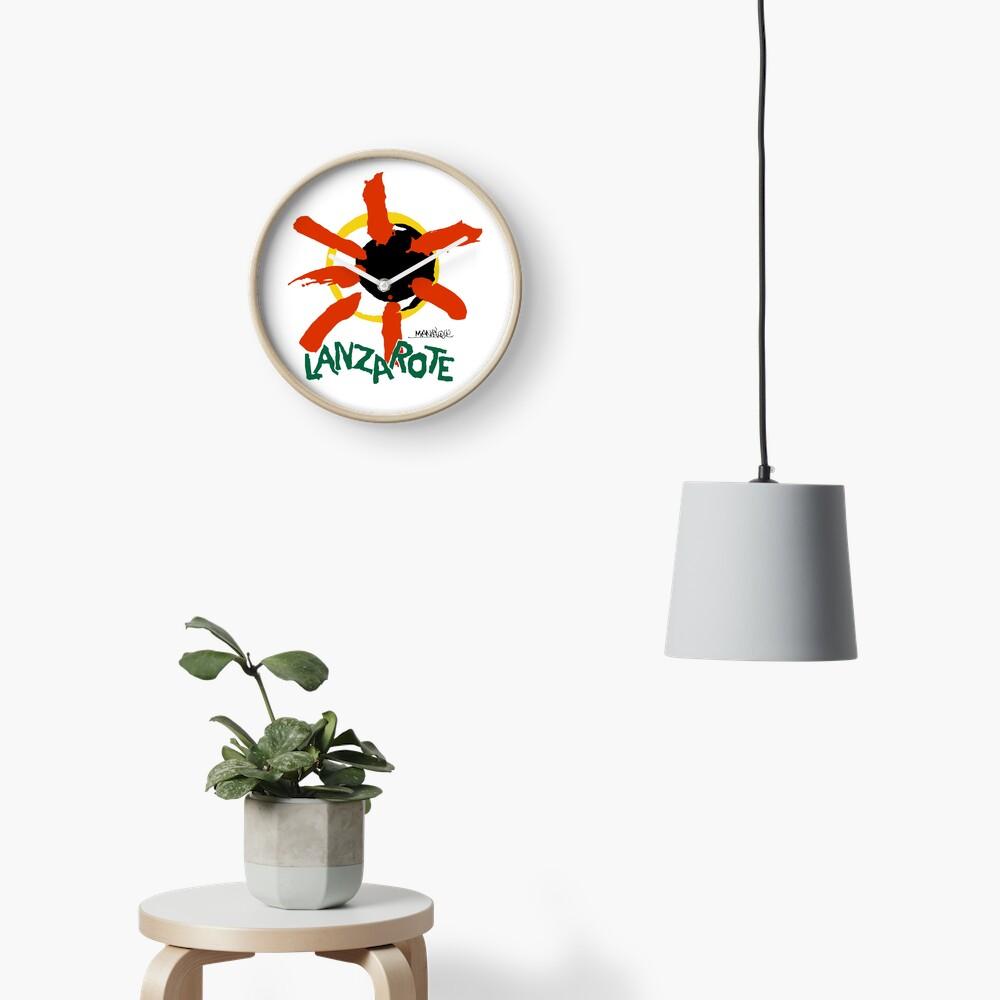 Lanzarote - Large Logo Clock