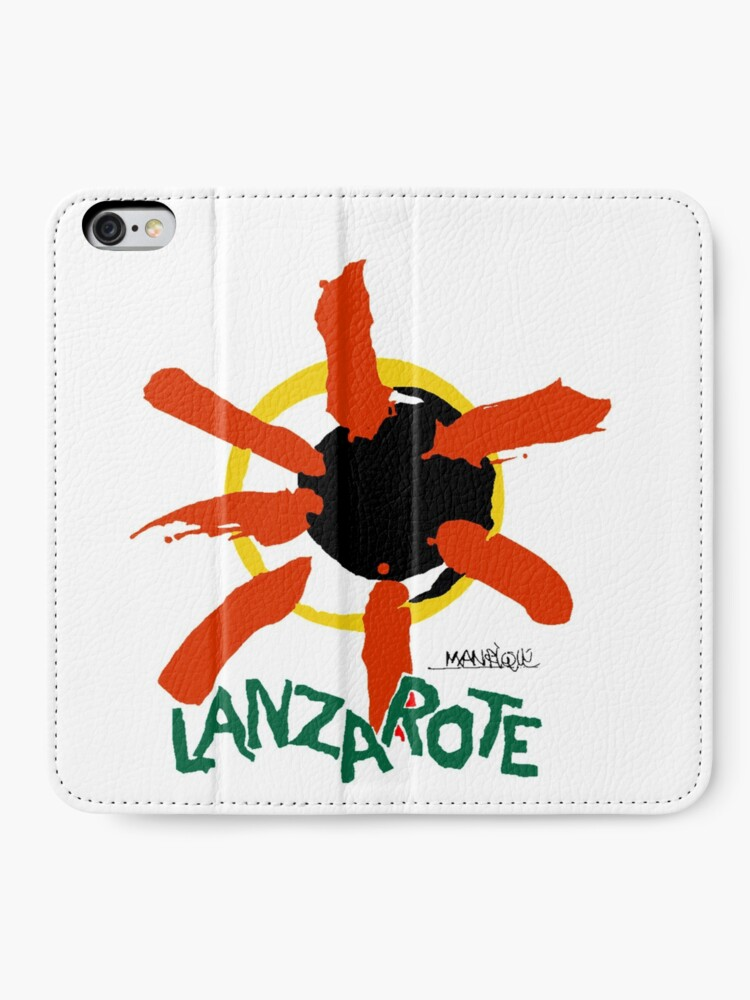 Alternate view of Lanzarote - Large Logo iPhone Wallet