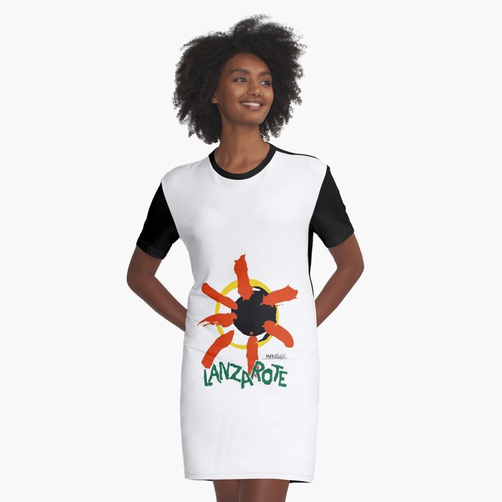 Lanzarote - Large Logo Graphic T-Shirt Dress