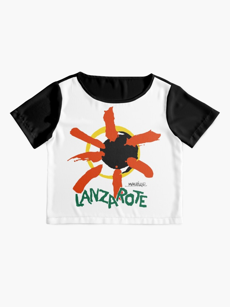 Alternate view of Lanzarote - Large Logo Chiffon Top