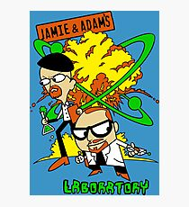 Jamie and Adam's Lab Photographic Print