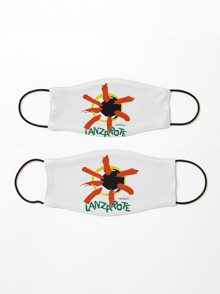 Alternate view of Lanzarote - Large Logo Mask