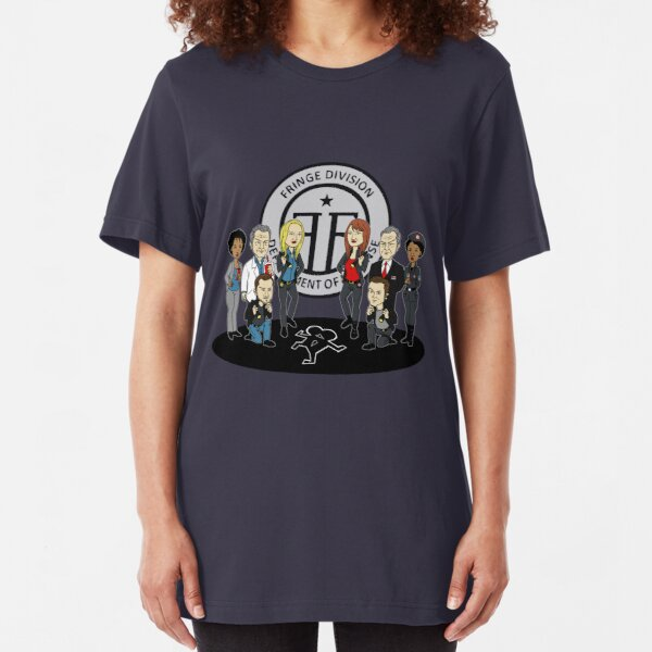 Fringe the Animated Series Slim Fit T-Shirt