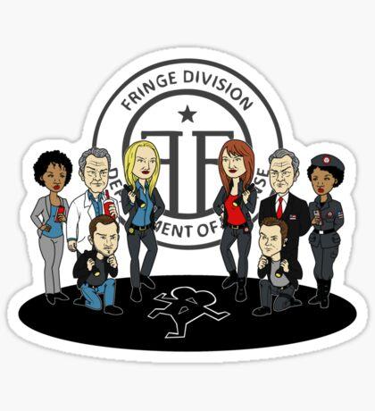 Fringe the Animated Series Sticker