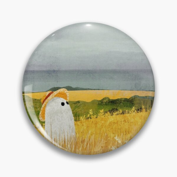 There's A Ghost in the Wheat field again... Pin