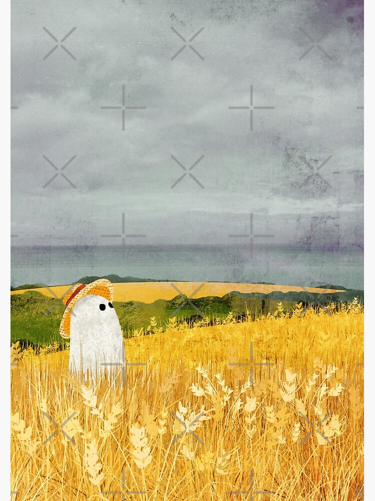 There's A Ghost in the Wheat field again... by katherineblower