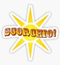Scorchio Sticker