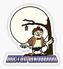 doctor whooooooooo Sticker