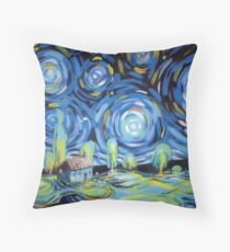 iberian nights Throw Pillow