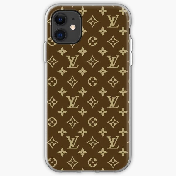 Louis V Pattern  iPhone Soft Case