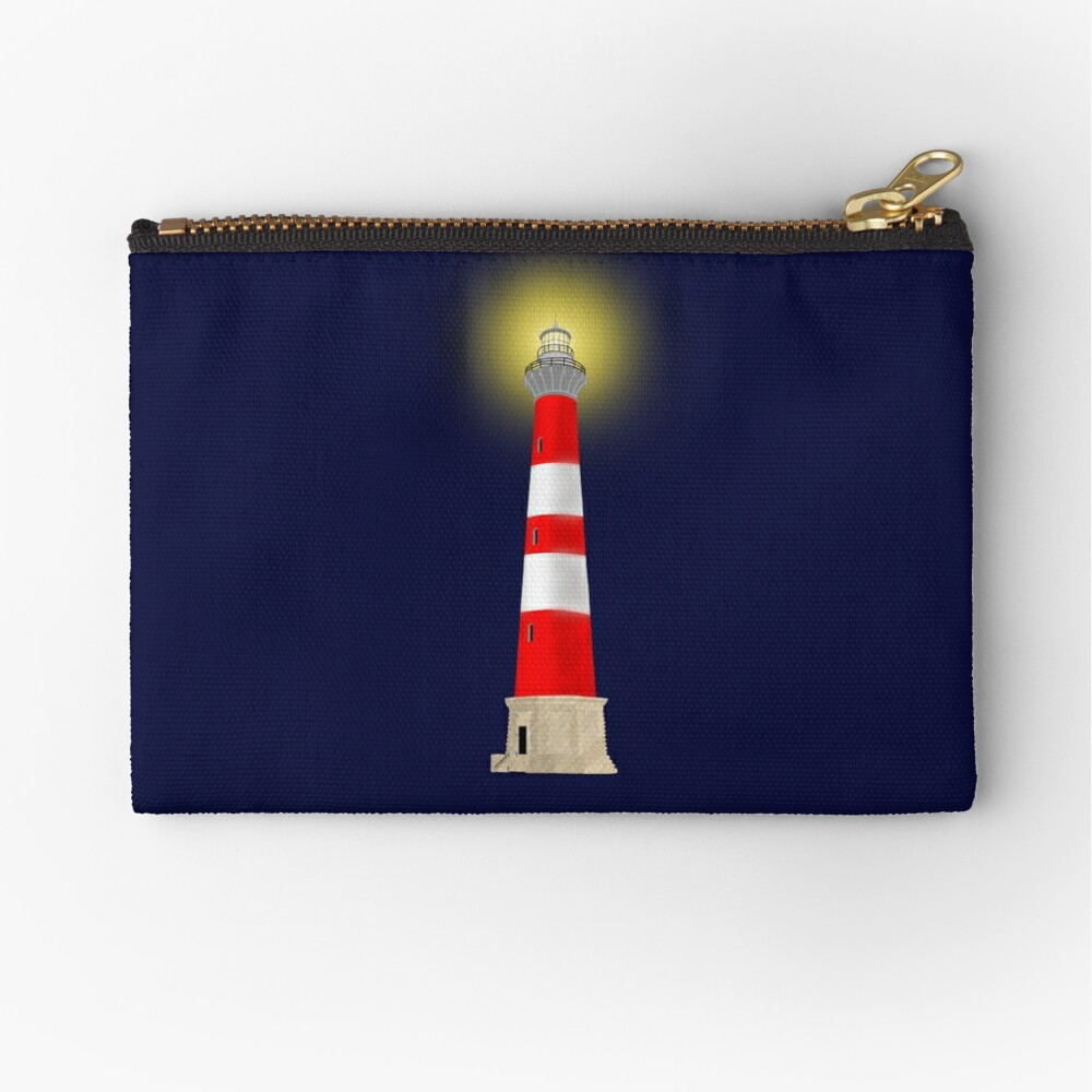 Lighthouse Zipper Pouch