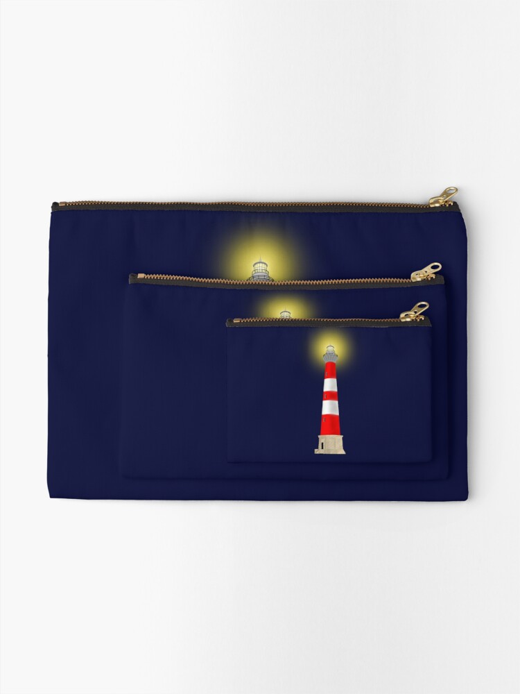Alternate view of Lighthouse Zipper Pouch