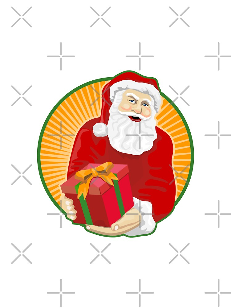 Santa Claus Father Christmas Retro by patrimonio