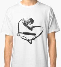 Digital camera isolated on white background DSLR Classic T-Shirt