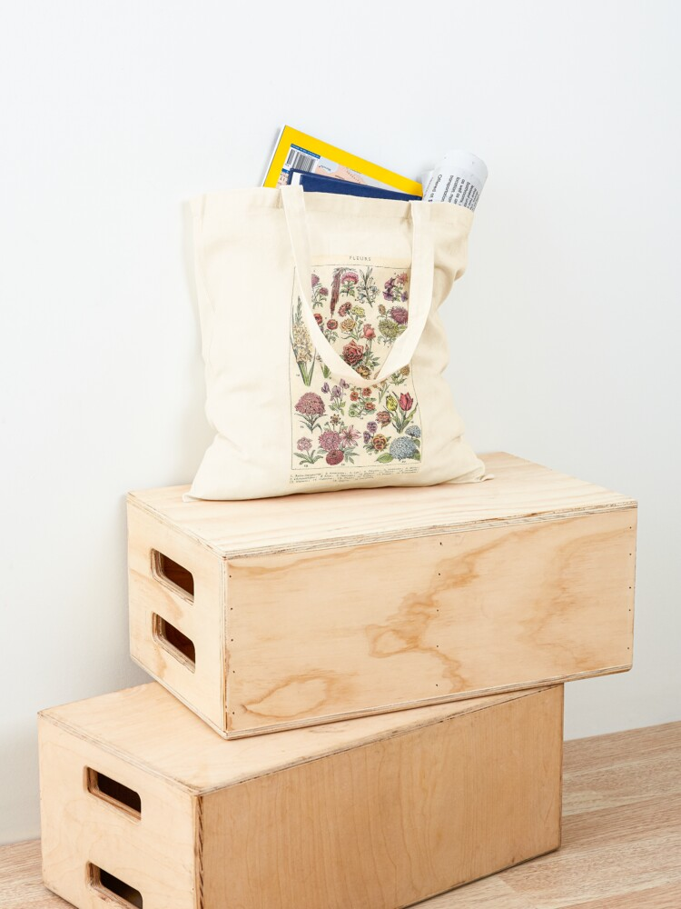 Alternate view of vintage flowers Tote Bag