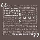 He's my brother (white text) by scaredywolf