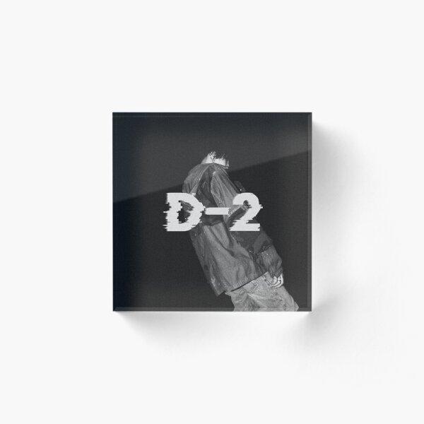 D-2 Agust D Album Cover Acrylic Block