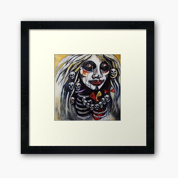 Death Is... But A Dream Framed Art Print