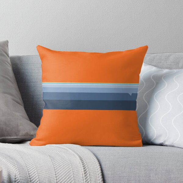 DENVER Custom Pattern  Throw Pillow
