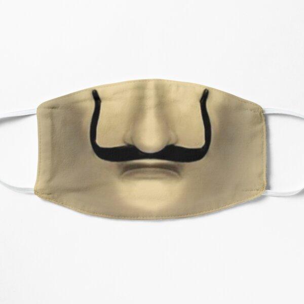 selvador dali face mask for coronavirus covid 19 Flat Mask