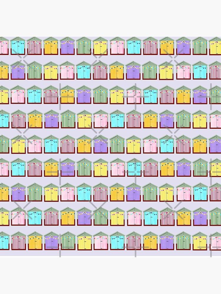 Beach Huts by kmg-design