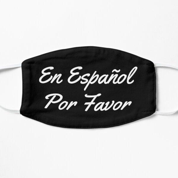 En Español Por Favor Spain Spanish Teacher Gift Flat Mask